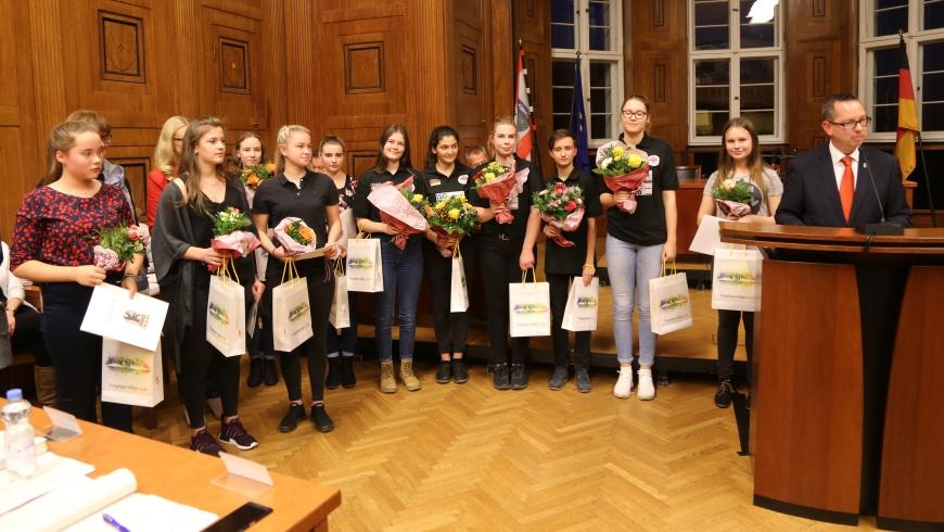 12 Mädchenpreis 2018