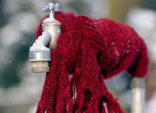 Frost kommt! Wasserleitungen entleeren!