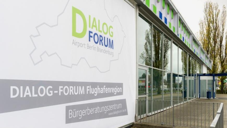 Geschäftsstelle des Dialogforum Airport Berlin Brandenburg