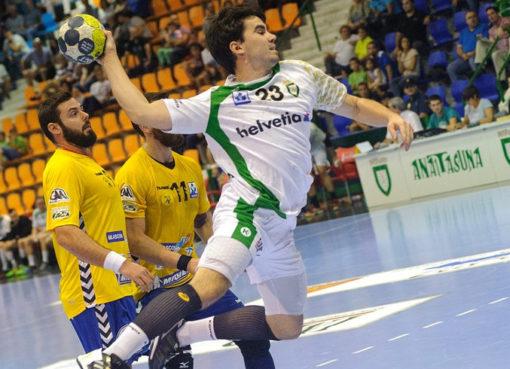 Handball in Aktion