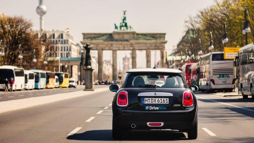 Carsharing: BMW Mini von DriveNow
