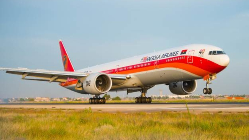 Boeing 777-300ER der TAAG Angola Airlines