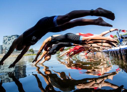 Triatlon, Schwimmen - Finals Berlin 2019