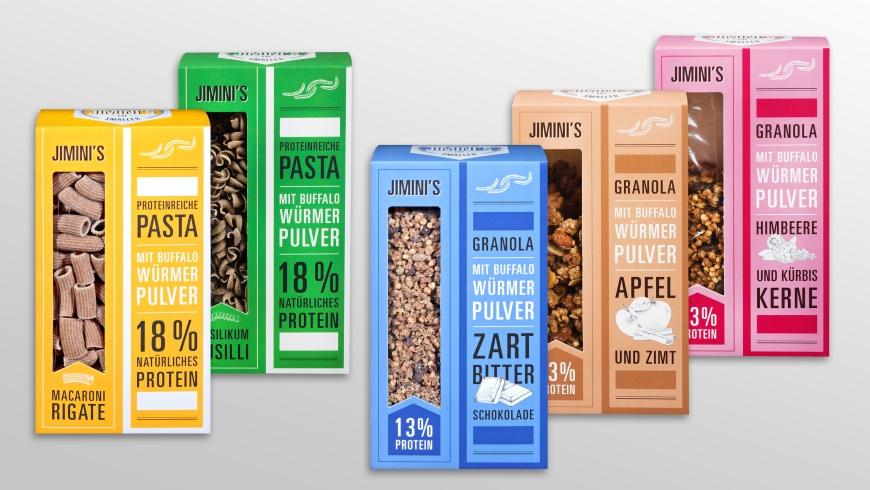 Kaufland: Nudeln & Müsli mit Insektenmehl
