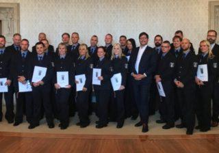 Neue Justizbeamten im Dienst