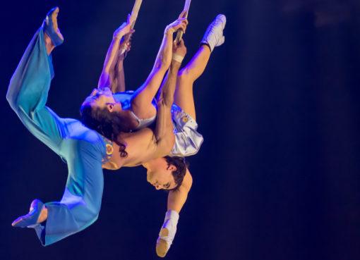 Duo Staps - Akrobatik in der Show CORTEO - Foto: Circque du Soleil