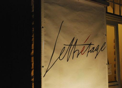 Eingang zum Literaturhaus - Foto: Lettrétage