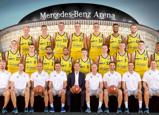ALBA BERLIN Team - Foto: ©Camera4