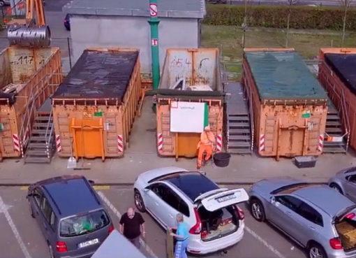 Recyclinghof der BSR