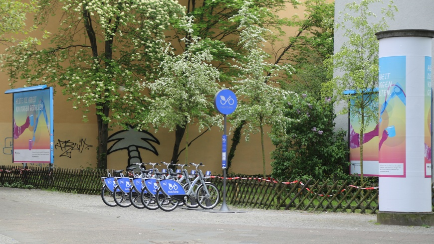 Nextbike Fahrrad-Verleihsystem