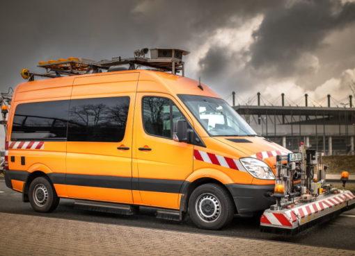Mess-Spezialfahrzeug TÜV Rheinland Schniering