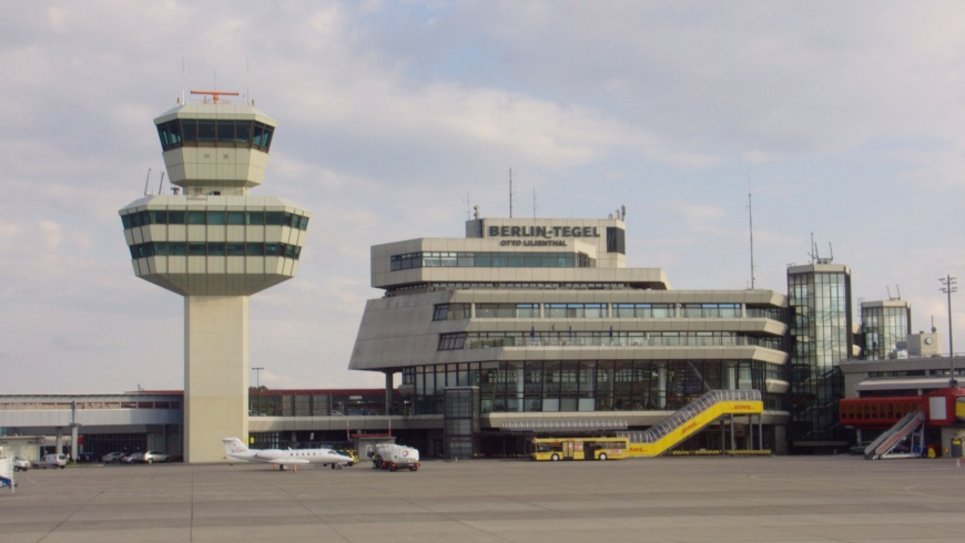 TXL: Tower and Hauptgebäude