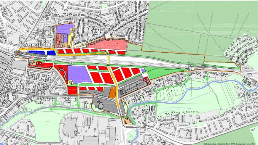 Städtebauliche Entwicklungsmaßnahme Güterbahnhof Köpenick