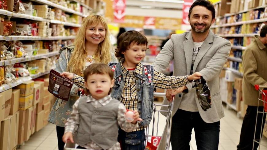 Familieneinkauf