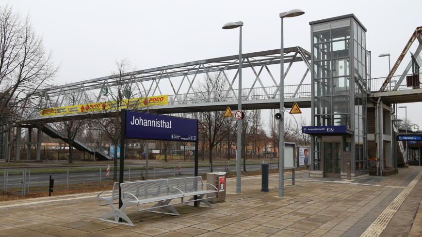 """S-Bahnhof """"Johannisthal"""""""