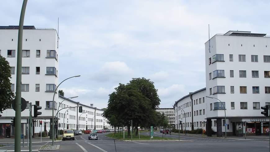 Weiße Stadt in Berlin-Reinickendorf