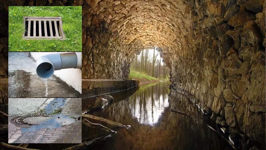 Vorfluter - Regenwasser-Einleitungen